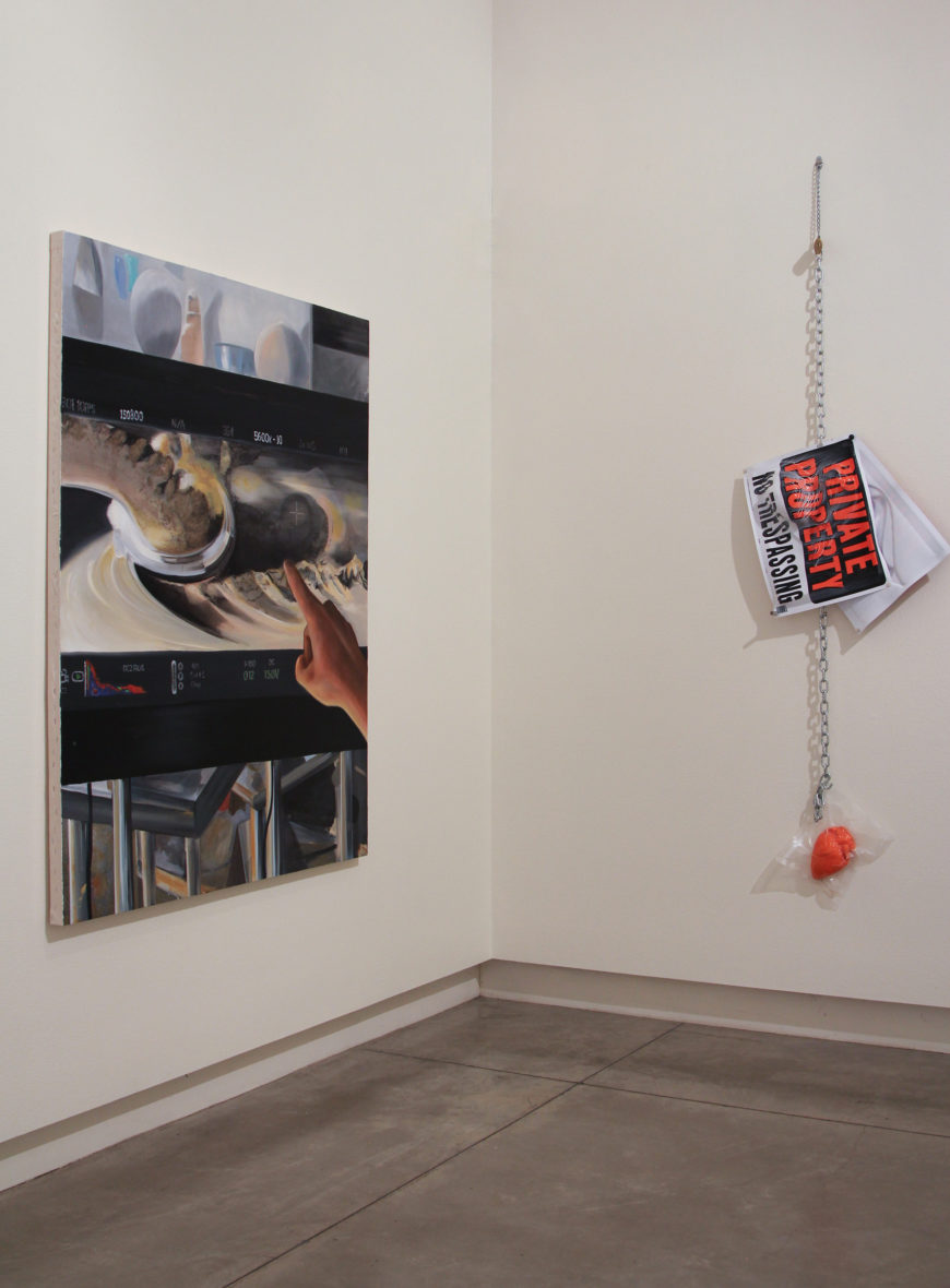 Ryan Kitson Install Winter 2019 at the Schneider Museum of Art at Southern Oregon University