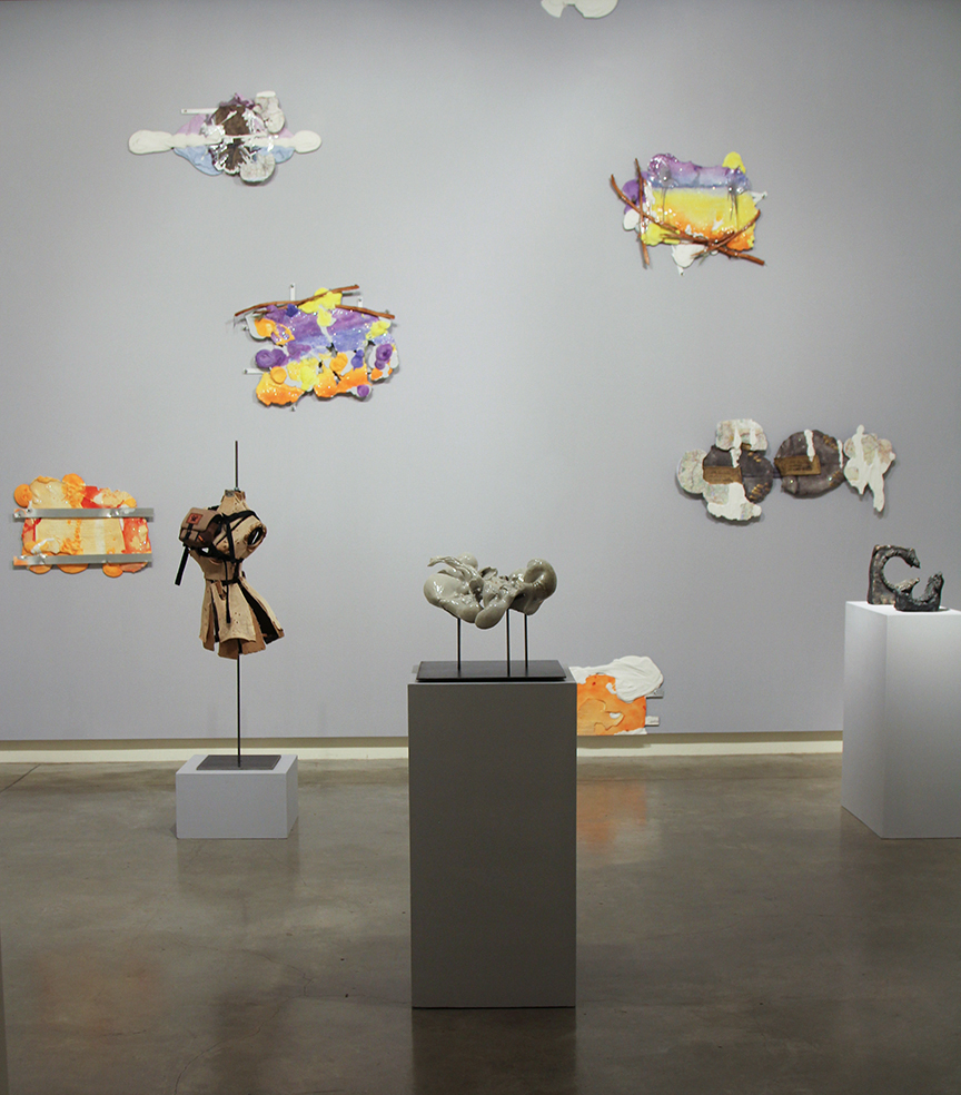 Ryan Kitson Treehaven Installation Winter 2019 at the Schneider Museum of Art at Southern Oregon University