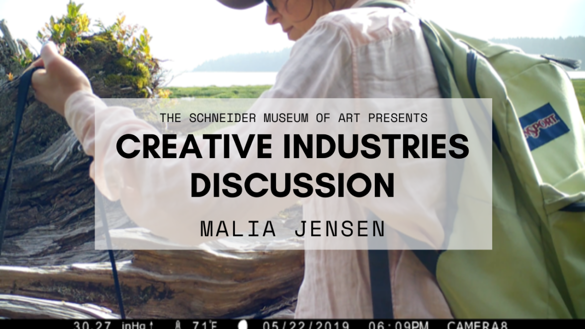 Creative Industries Discussion: Malia Jensen (VIDEO)