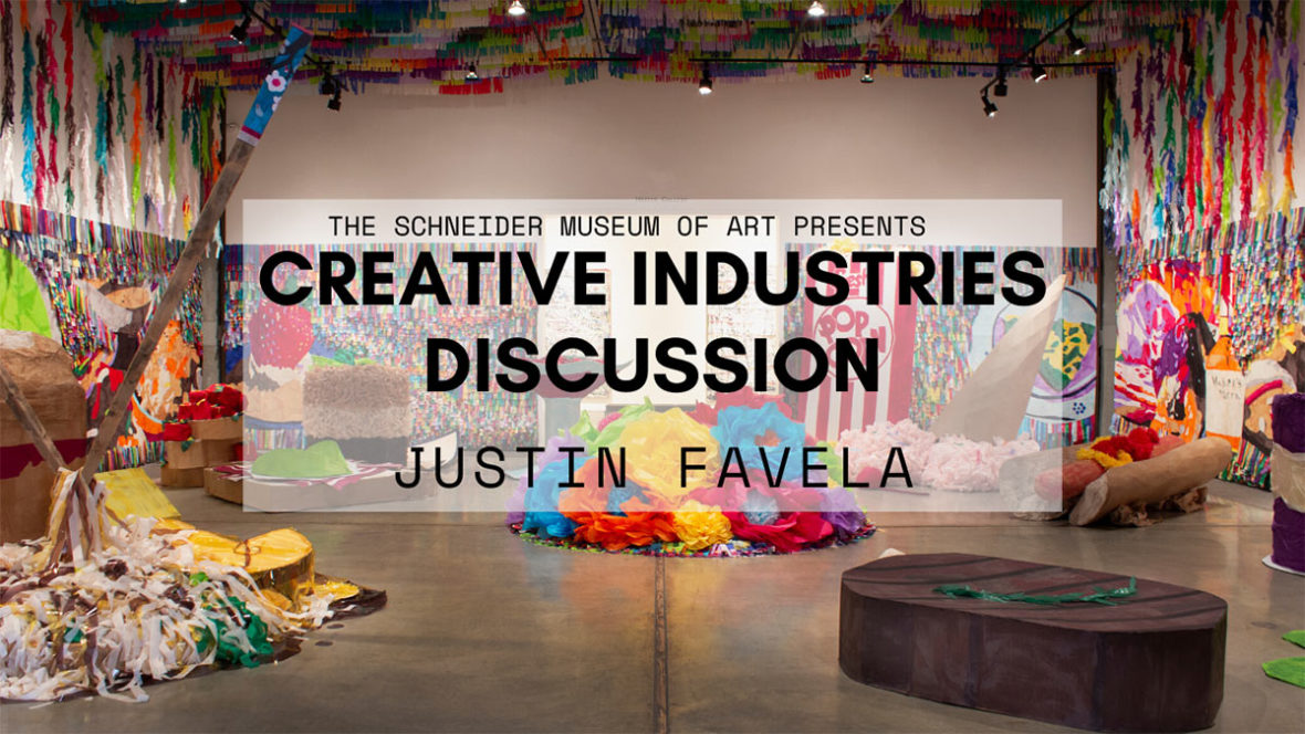 Creative Industries Discussion: Justin Favela (VIDEO)