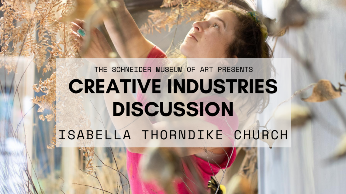 Creative Industries Discussion: Isabella Thorndike Church